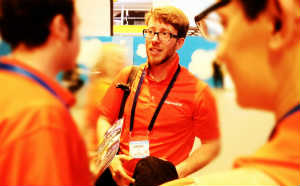 The Tquila team brought the orange to Cloudforce & Cloudstock!