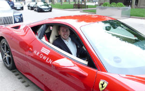 Clients + Super cars = Like
